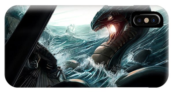 Sea Serpent IPhone Case