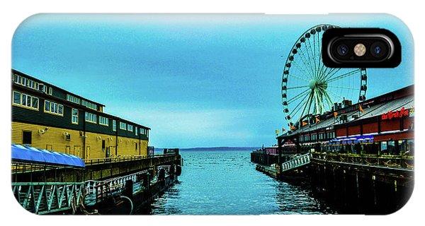 Sea Side, Seattle 2 IPhone Case