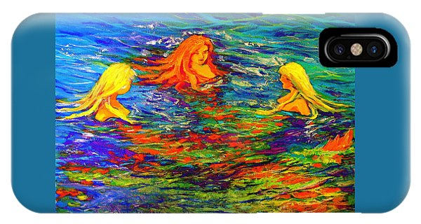 Sea Sisters Revisited IPhone Case