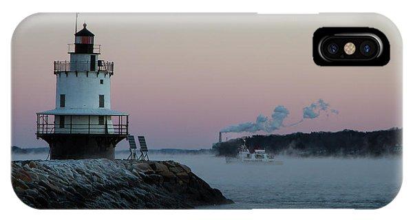 Sea Smoke IPhone Case