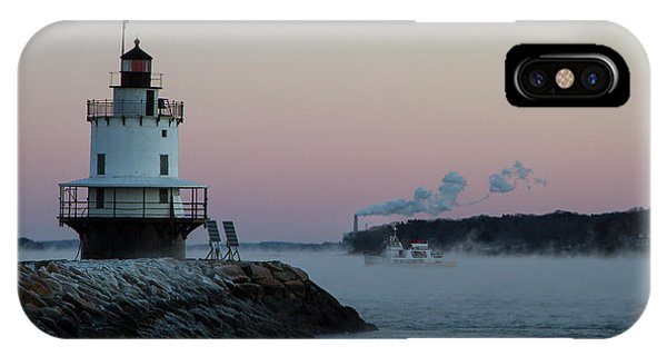 IPhone Case featuring the photograph Sea Smoke by Darryl Hendricks