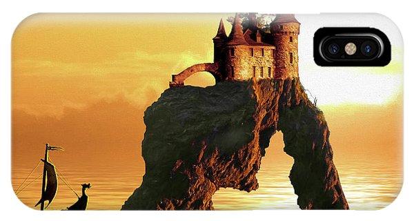 Sea Stack Castle IPhone Case