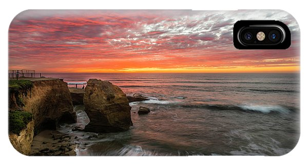 Sea Stack Sunset IPhone Case