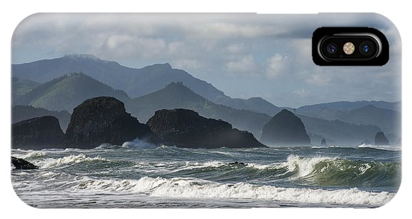 Sea Stacks And Surf IPhone Case