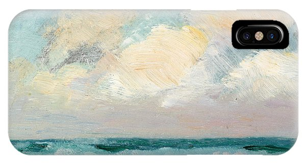 Sky iPhone Case - Sea Study - Morning by AS Stokes