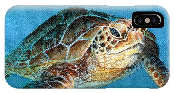 Sea Turtle 1 Of 3 IPhone Case