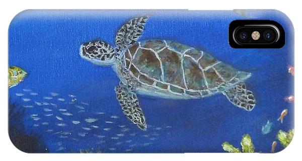 Sea Turtle 2 IPhone Case