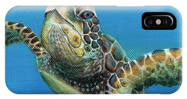 Sea Turtle 3 Of 3 IPhone Case
