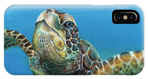 Sea Turtle 3 Of 3 IPhone Case