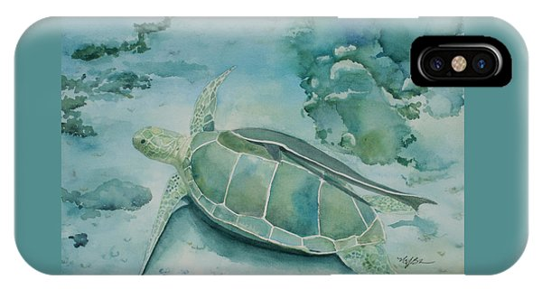 Sea Turtle And Friend IPhone Case