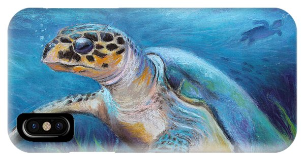 Sea Turtle Cove IPhone Case