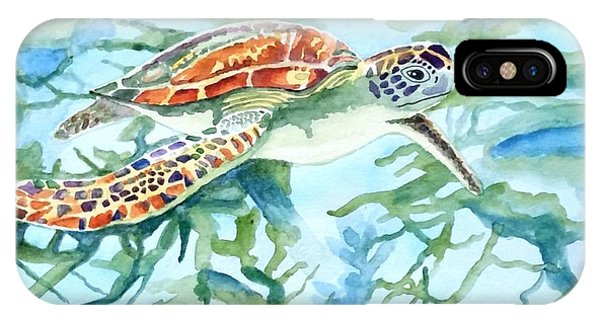 Sea Turtle Series #1 IPhone Case