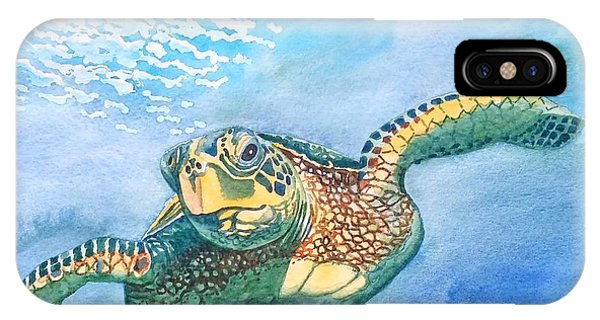 Sea Turtle Series #2 IPhone Case