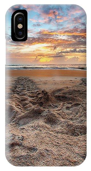 Sea Turtle Trails IPhone Case