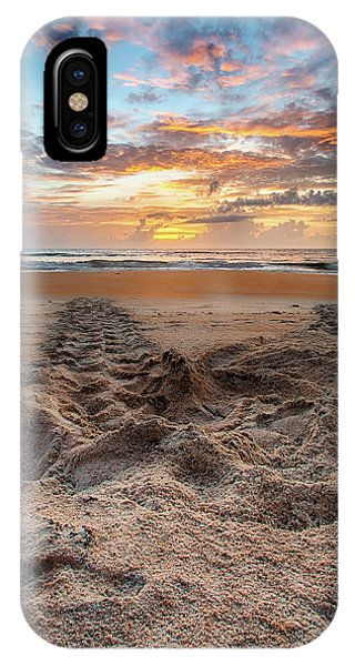 Sea Turtle Trails IPhone Case