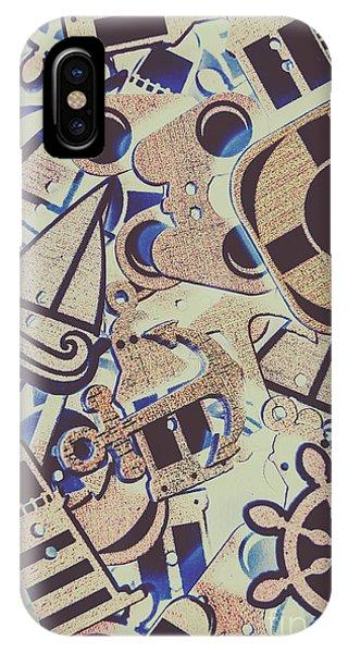 Maritime iPhone Case - Seaboard Scrapbook by Jorgo Photography - Wall Art Gallery