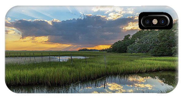 Seabrook Island Sunrays IPhone Case