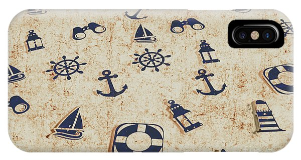 Navigation iPhone Case - Seafaring Antiques by Jorgo Photography - Wall Art Gallery