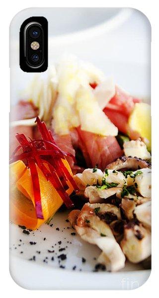 Squid iPhone Case - Seafood by Jelena Jovanovic