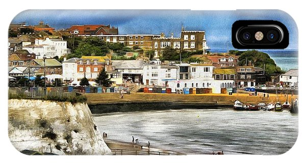Seafront Broadstairs Kent IPhone Case