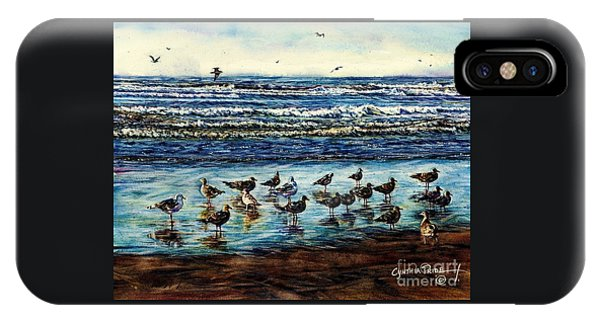 Seagull Get-together IPhone Case