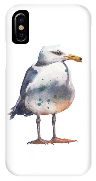 Seagull Print IPhone Case