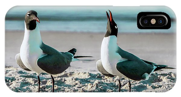 Seagull Serenade 4954 IPhone Case