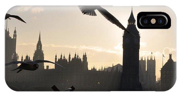Seagull Skyline IPhone Case