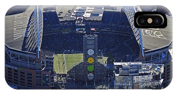 Seahawk Stadium IPhone Case