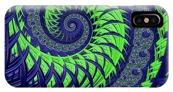 Seahawks Spiral IPhone Case