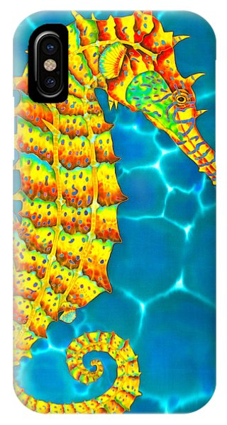 Seahorse - Exotic Art IPhone Case
