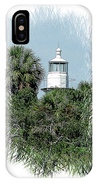 Seahorse Key Light IPhone Case