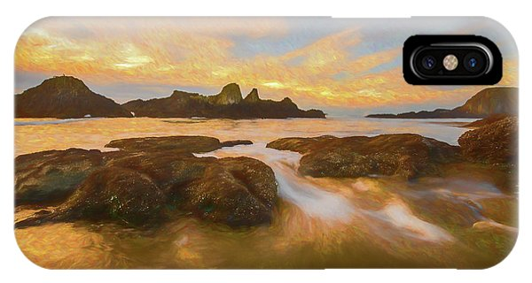 Seal Rock Sunset IPhone Case