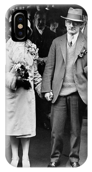 Child Actress iPhone Case - Sean O'casey Wedding by Underwood Archives