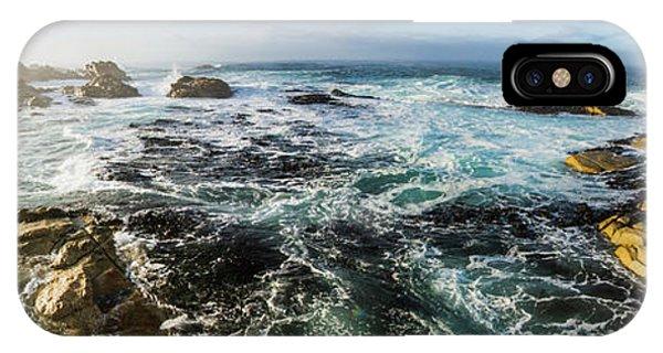 Tidal iPhone Case - Seas Of The Wild West Coast Of Tasmania by Jorgo Photography - Wall Art Gallery