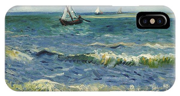 Seascape Near Les Saintes Maries De La Mer IPhone Case