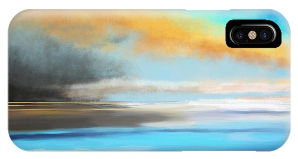 Seascape Painting IPhone Case