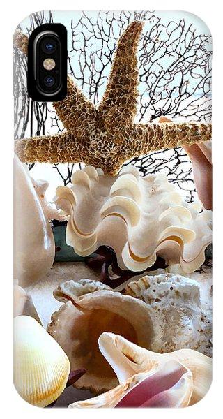 Seashell Galore IPhone Case
