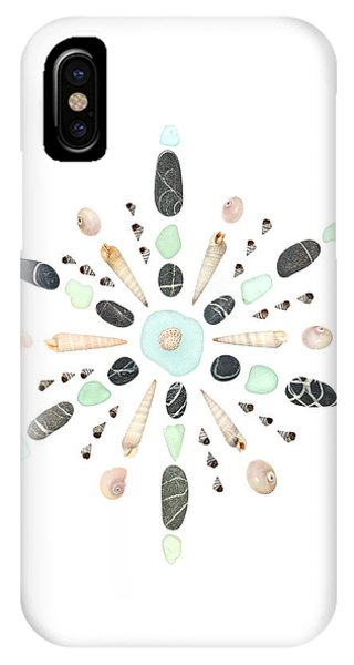 Seashell Snowflake 5 IPhone Case