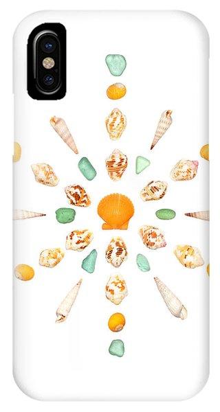 Seashell Snowflake 7 IPhone Case