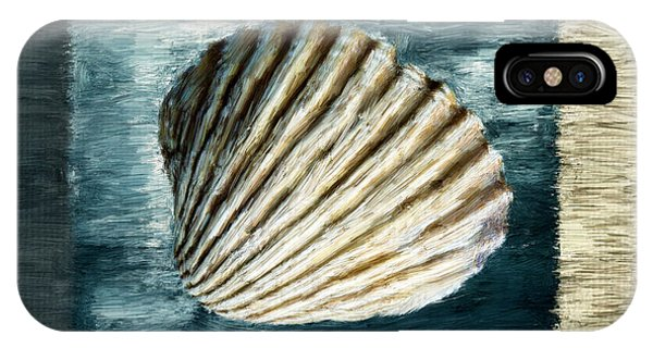 Shell Texture iPhone Case - Seashell Souvenir by Lourry Legarde