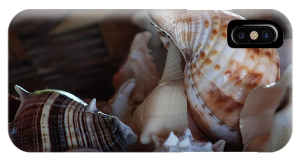 IPhone Case featuring the photograph Seashells  by Ana Mireles