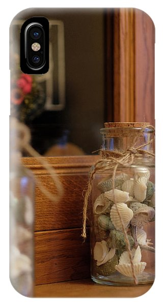 IPhone Case featuring the photograph Seashells by Jeremy Lavender Photography
