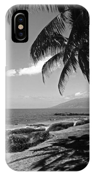Seashore Palm Trees IPhone Case