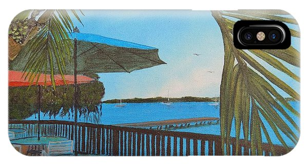 Seaside Balcony IPhone Case
