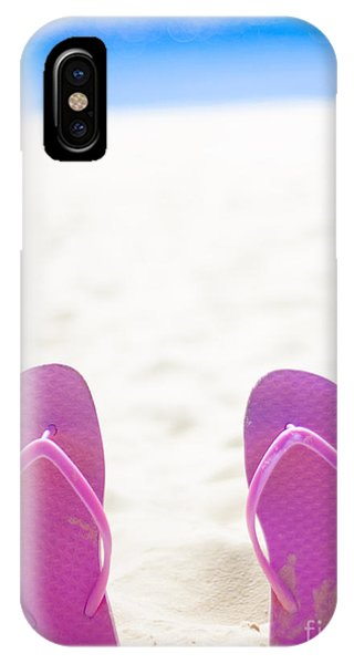 Hot iPhone Case - Seaside Holiday Concept With Copyspace by Jorgo Photography - Wall Art Gallery