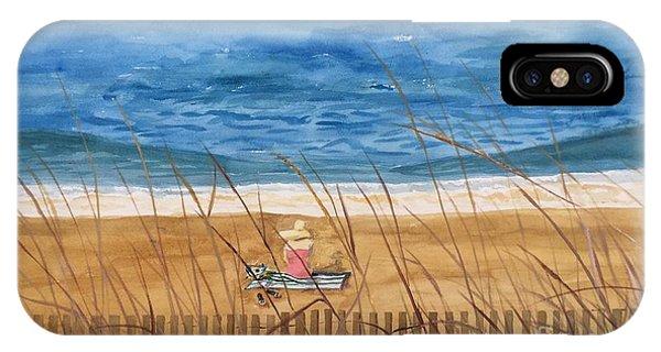 Seaside In Massachusetts IPhone Case