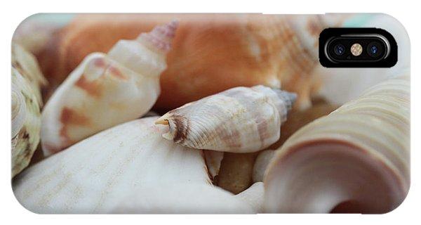 Seaside Seashells IPhone Case