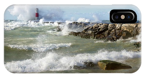 Seaside Splash IPhone Case