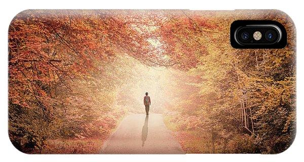 Desolation iPhone Case - Season Of Hollow Soul by Evelina Kremsdorf